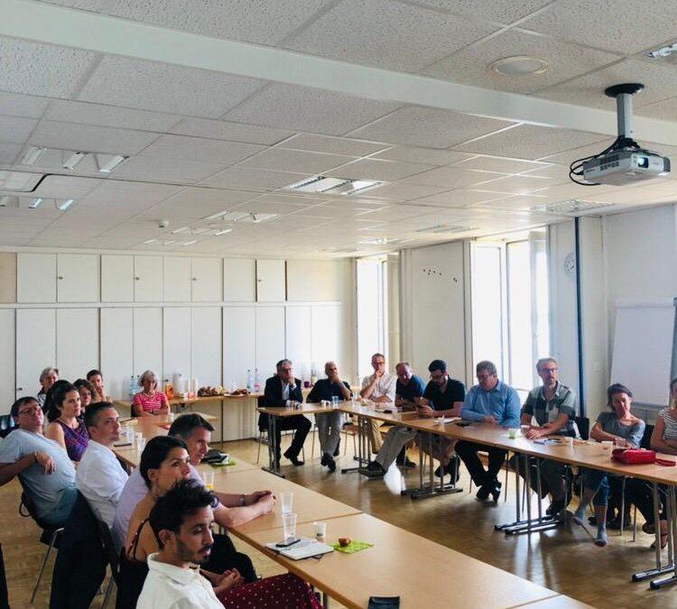 Petit-déjeuner du 2 juillet 2019 à l'Ecole Club Migros Neuchâtel
